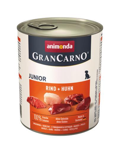 ANIMONDA GranCarno Junior Rind + Huhn 800 g