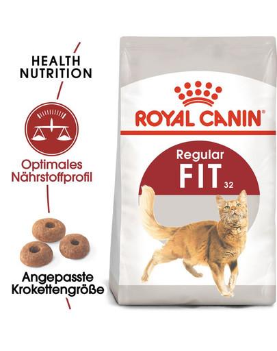 ROYAL CANIN FIT Trockenfutter für aktive Katzen 10 kg