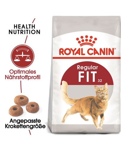 ROYAL CANIN FIT Trockenfutter für aktive Katzen 400 g