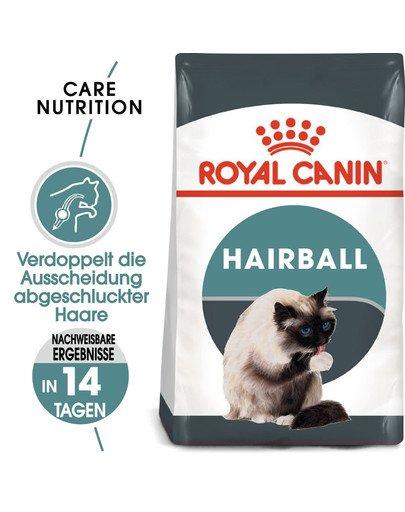 ROYAL CANIN Hairball Care Katzenfutter trocken gegen Haarballen 10 kg