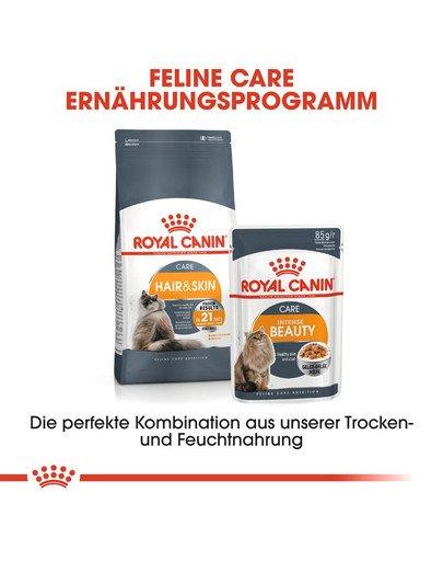 ROYAL CANIN Hair & Skin Care Katzenfutter trocken für gesundes Fell 10 kg