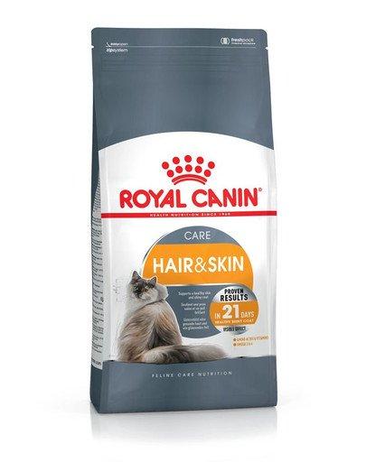 ROYAL CANIN Hair & Skin Care Katzenfutter trocken für gesundes Fell 2 kg