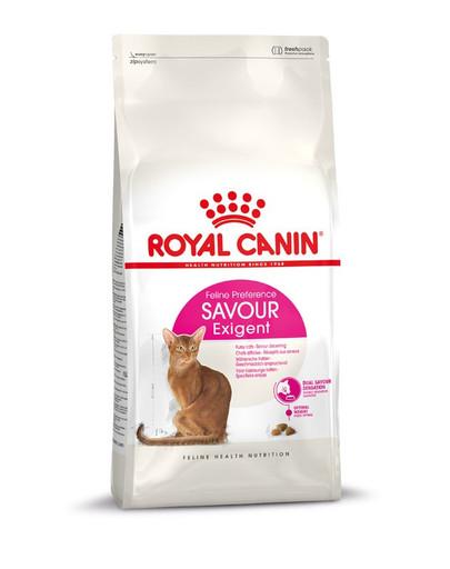 ROYAL CANIN SAVOUR EXIGENT Trockenfutter für wählerische Katzen 400 g