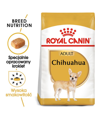 ROYAL CANIN Chihuahua Adult Hundefutter trocken 3 kg 51694