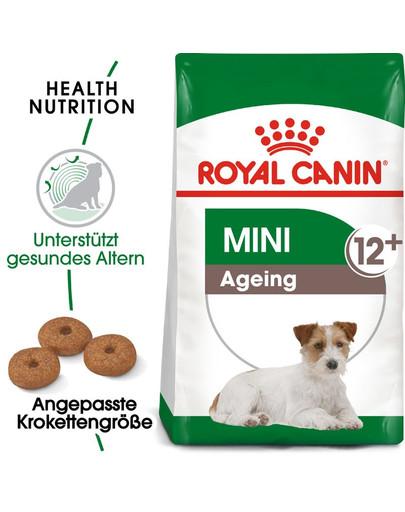ROYAL CANIN MINI Ageing 12+ Trockenfutter für ältere kleine Hunde 800 g