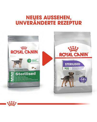 ROYAL CANIN STERILISED MINI Trockenfutter für kastrierte kleine Hunde 8 kg
