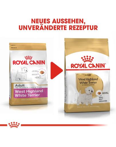 ROYAL CANIN West Highland White Terrier Adult Hundefutter trocken 3 kg