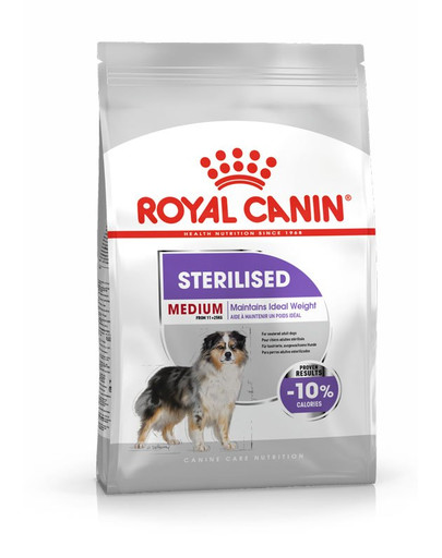 ROYAL CANIN STERILISED MEDIUM Trockenfutter für kastrierte mittelgroße Hunde 3 kg