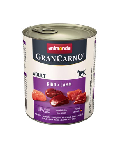 ANIMONDA GranCarno Original Adult RIND + LAMM 400 g