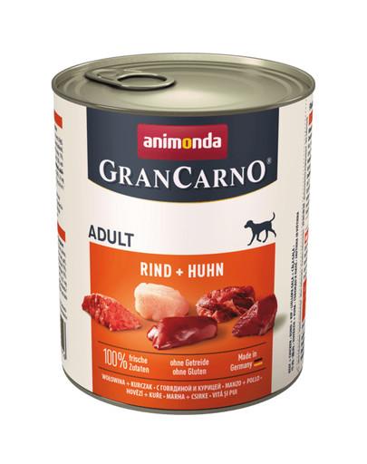 ANIMONDA GranCarno Original Adult RIND + HUHN 800 g