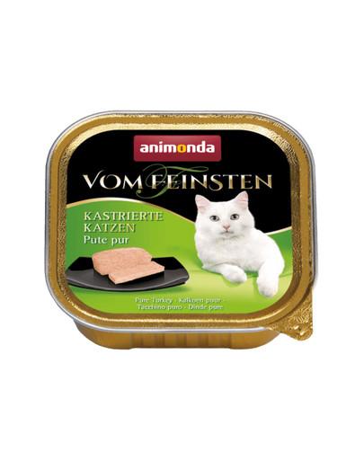 ANIMONDA Vom Feinsten Kastrierte Katzen PUTE PUR 100 g