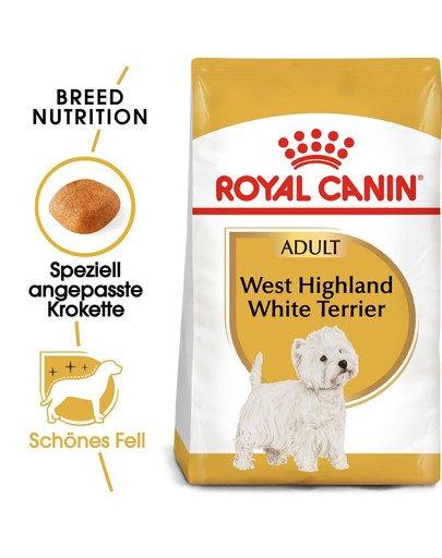 ROYAL CANIN West Highland White Terrier Adult Hundefutter trocken 1,5 kg