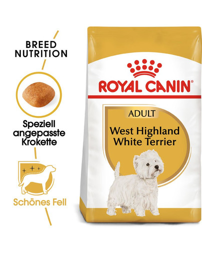ROYAL CANIN West Highland White Terrier Adult Hundefutter trocken 3 kg