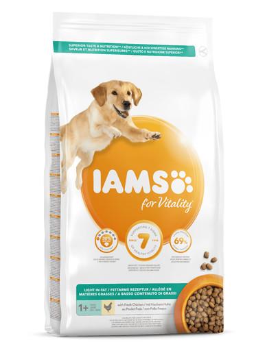 IAMS for Vitality fettarm mit frischem Huhn 12 kg 44046