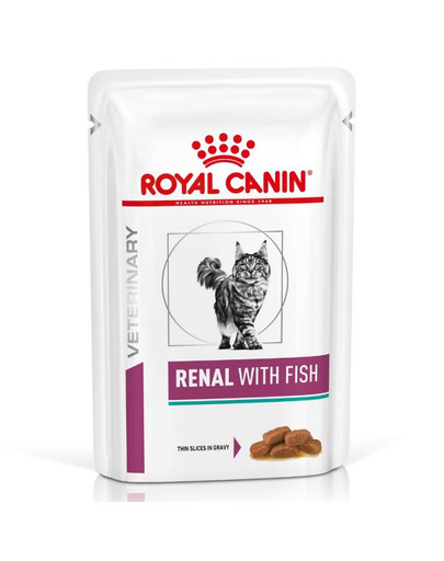 ROYAL CANIN Renal Feline with fish 12 x 85 g