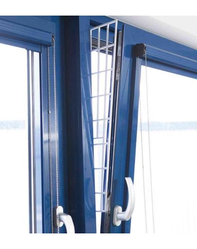 TRIXIE Schutzgitter für Fenster 62 × 16/7 cm 47525
