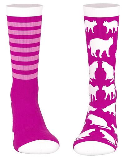 WHISKAS Socken mit Katzenmuster 53955