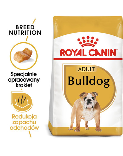 ROYAL CANIN Bulldog Adult Hundefutter trocken 12 kg