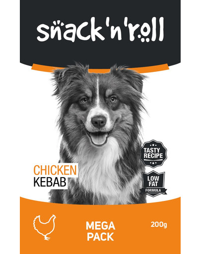 SNACK & ROLL Chicken Kebab Huhn am Stiel nach Kebab 200 g 54115