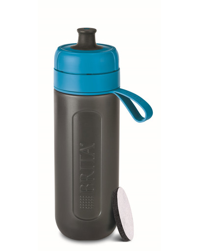 BRITA Trinkflasche Fill & Go Activ 0,6 l blau 53977