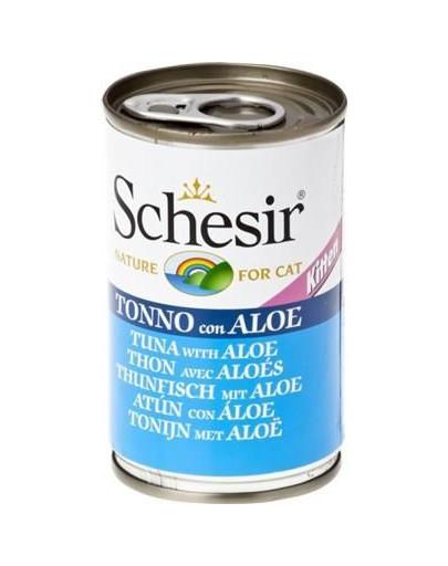 SCHESIR Thunfisch mit Aloe KITTEN 140g 54518