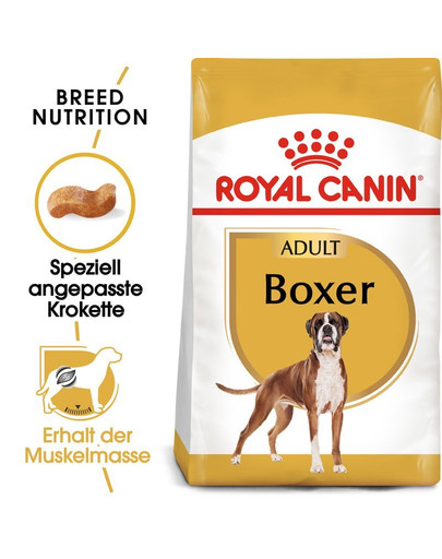ROYAL CANIN Boxer Adult Hundefutter trocken 24 kg (2 x 12 kg) 54792