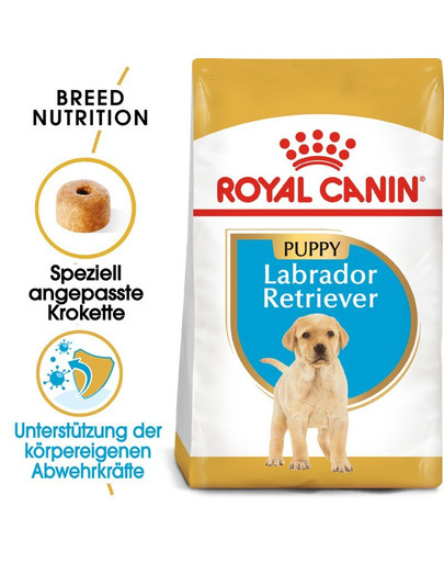 ROYAL CANIN Labrador Retriever Puppy Welpenfutter trocken 24 kg (2 x 12 kg) 54786