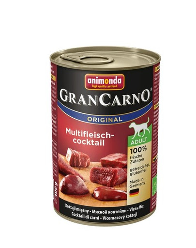 ANIMONDA GranCarno Original Adult MULTI-FLEISCHCOCKTAIL 400 g