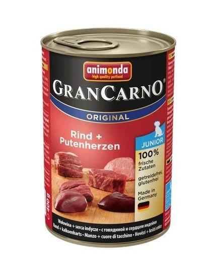 ANIMONDA GranCarno Junior Rind + Putenherzen 800 g