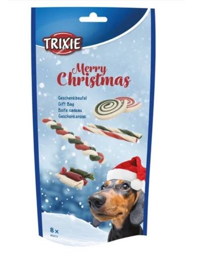 TRIXIE Xmas Geschenkbeutel, für Hunde 8 St 54331