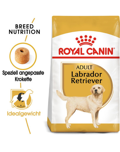 ROYAL CANIN Labrador Retriever Adult Hundefutter trocken 24 kg (2 x 12 kg) 54985