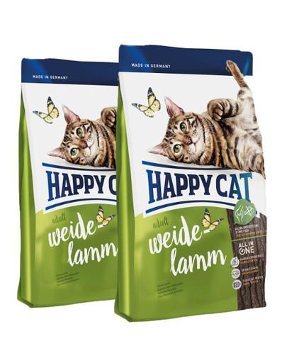 HAPPY CAT Adult Weide-Lamm 20 kg (2 x 10 kg) 55397