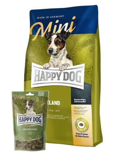 HAPPY DOG Mini Neuseeland + Soft Snack Mini Neuseeland 100 g 55669
