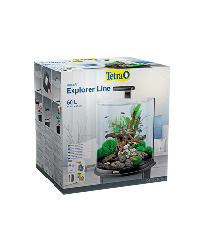 TETRA Aquarium AquaArt Explorer Line LED 60 Liter