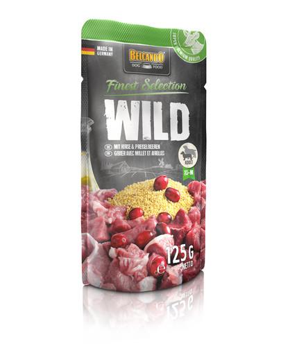BELCANDO Wild mit Hirse & Preiselbeeren 125 g