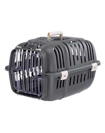 FERPLAST Jet 10 Träger für Katzen und kleine Hunde grau 59723